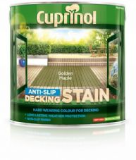 Cuprinol Anti Slip Decking Stain 2.5L - Golden Maple